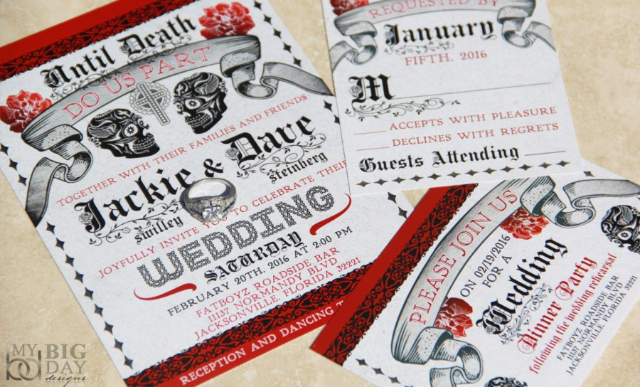 Skull Wedding Invitations Skull Wedding Invitations Skull Wedding Invitations As A Result Of