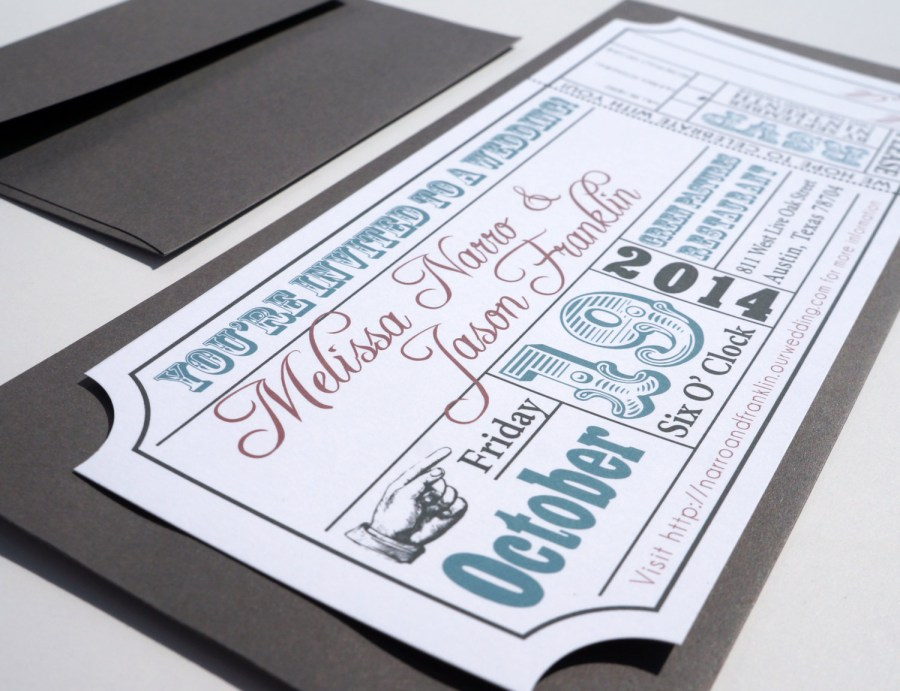 Ticket Wedding Invitations Movie Ticket Wedding Invitations Movie Ticket Wedding Invitations