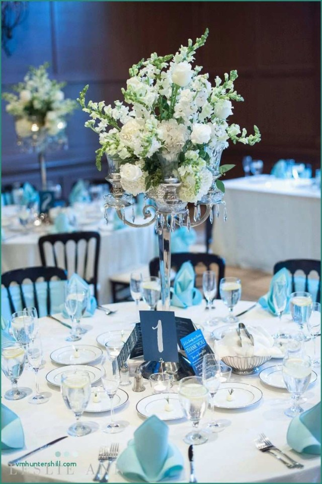 Turquoise And White Wedding Decorations Blue And White Wedding Table Settings Wonderful Blue And White
