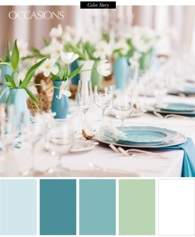 Turquoise And White Wedding Decorations Elegant Beach Decor For Destination Wedding Occasions