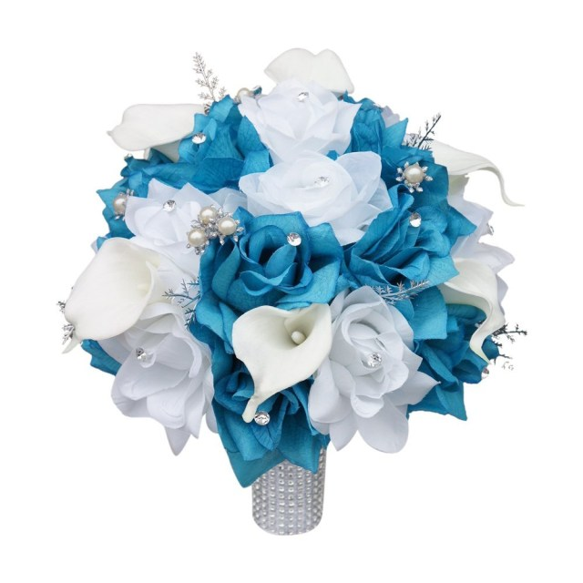 Turquoise And White Wedding Decorations Fantastic Turquoise And White Wedding Flowers 28 About Remodel