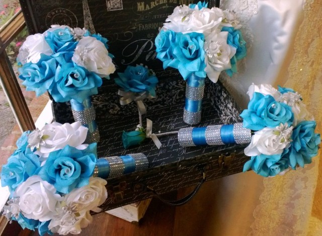 Turquoise And White Wedding Decorations White And Silver Wedding Dress Red White And Silver Wedding