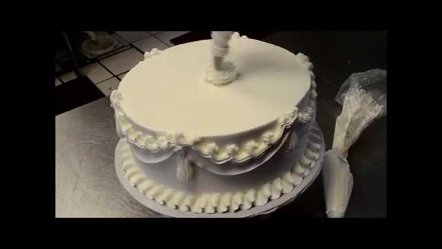 Wedding Cake Decoration Wedding Cake Decorating In 5 Min Learn The Secrets Of Bakery Youtube