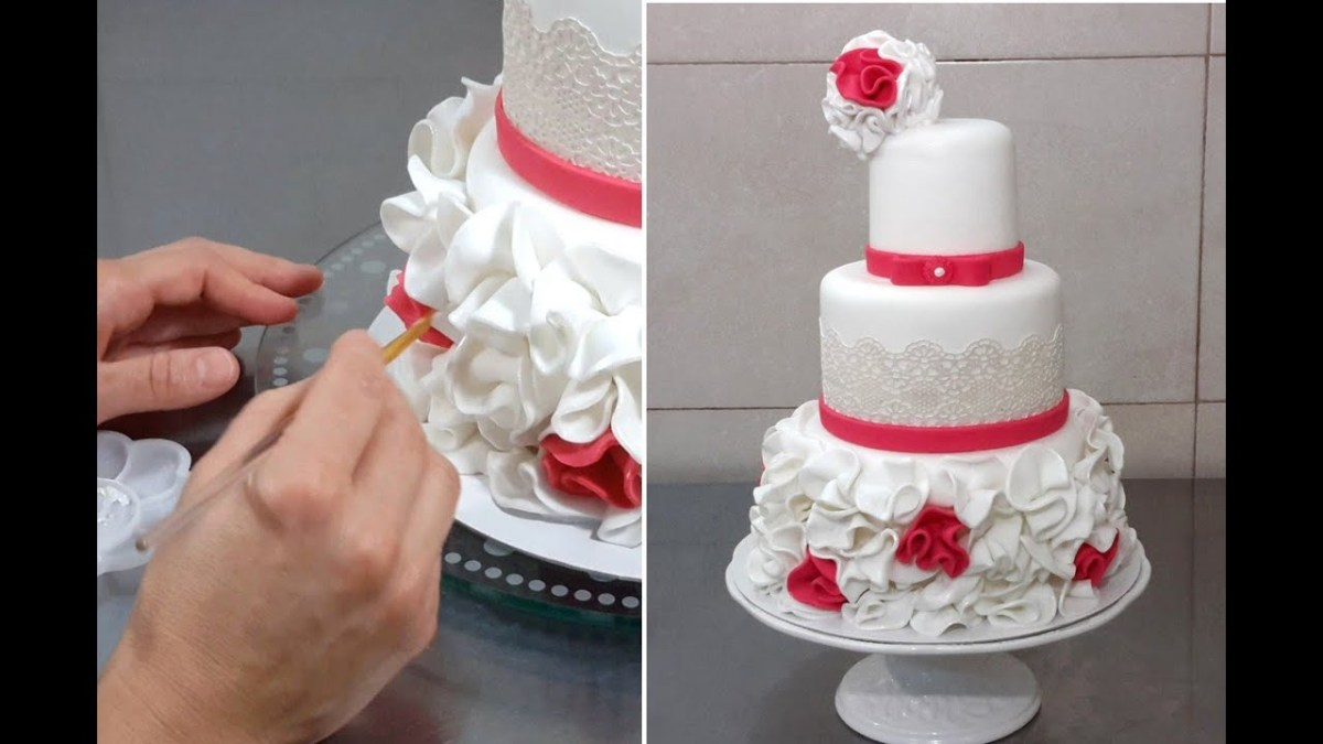 Wedding Cake Decoration Wedding Cake Decorating With Fondant Sugar Lace Cakes