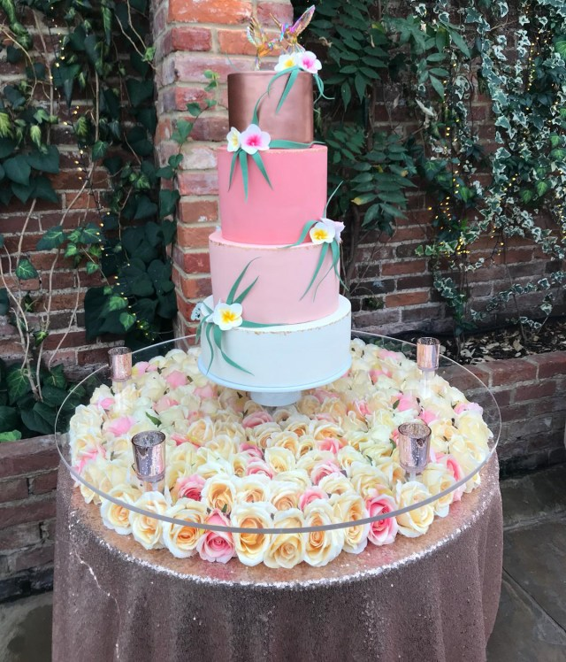 Wedding Cake Table Decoration Floating Wedding Cake Table Top Beyond Expectations Weddings Events