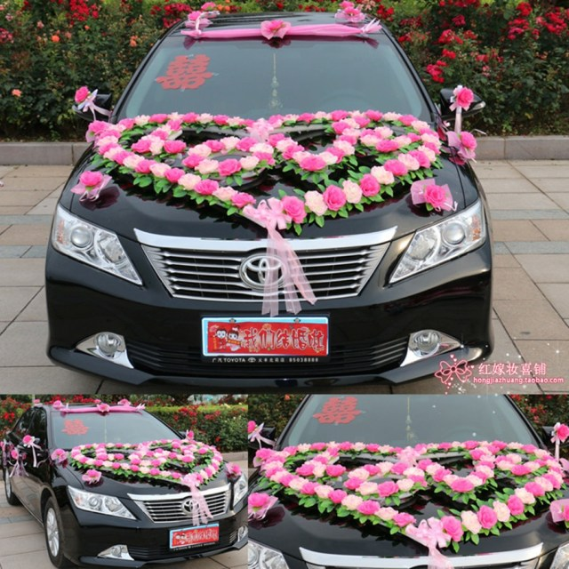 Wedding Car Decoration Kit Car Flower Design Decoration Kit Wedding Car Decoration Suits