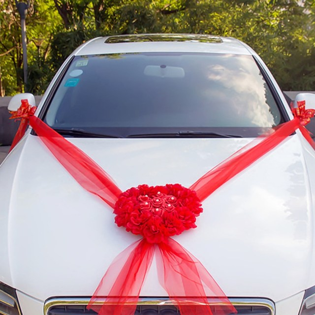 Wedding Car Decoration Kit Detail Feedback Questions About Wedding Car Decorations Kit Set