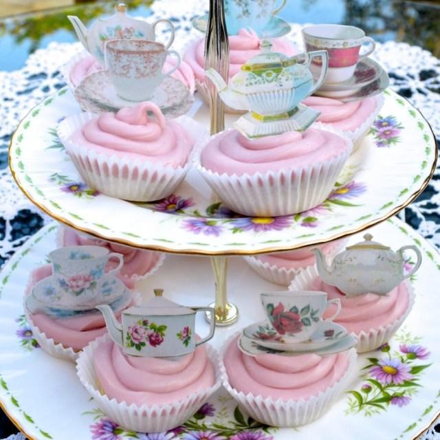 Wedding Cupcake Decorations Edible Teapots Teacup X 360 Wafers Rice Paper Wedding Cupcake