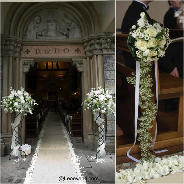 Wedding Flower Decorations Church Wedding Decorations Ideas For Your Wedding In Italy Leo Eventi