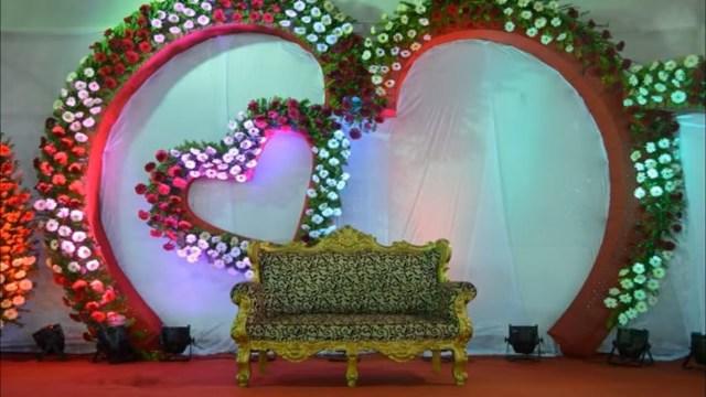 Wedding Flower Decorations Stage Decoration Ideas For Wedding Flower Decoration Youtube