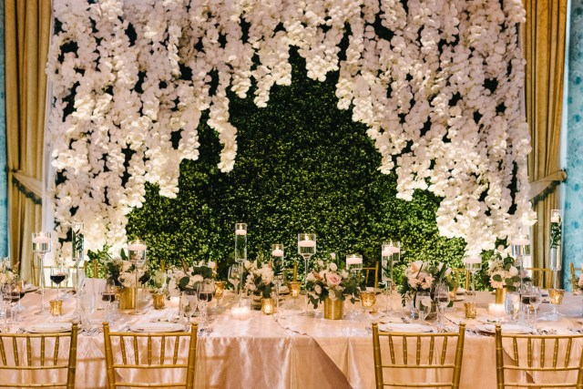 Wedding Head Table Decor Head Table Dcor Wedding Flowers And Decorations Luxury Wedding
