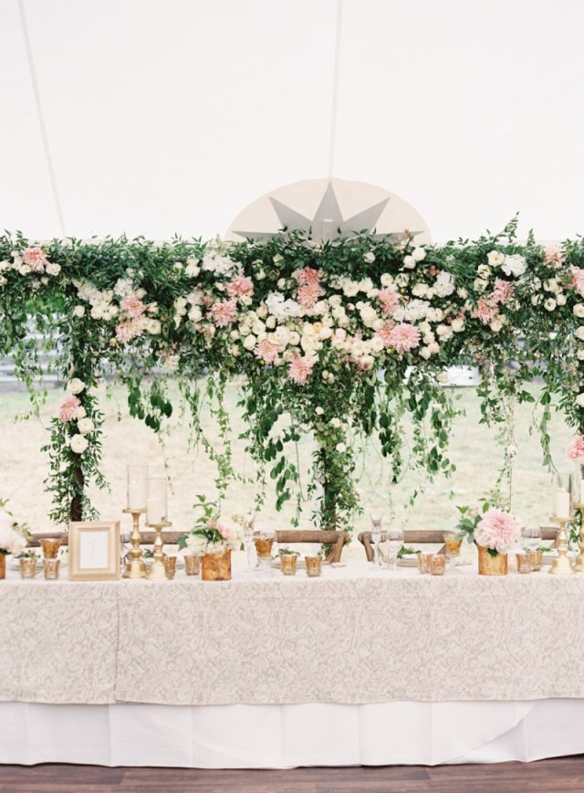 Wedding Head Table Decor Head Table Ideas Trendy Bride Destination Wedding Blog