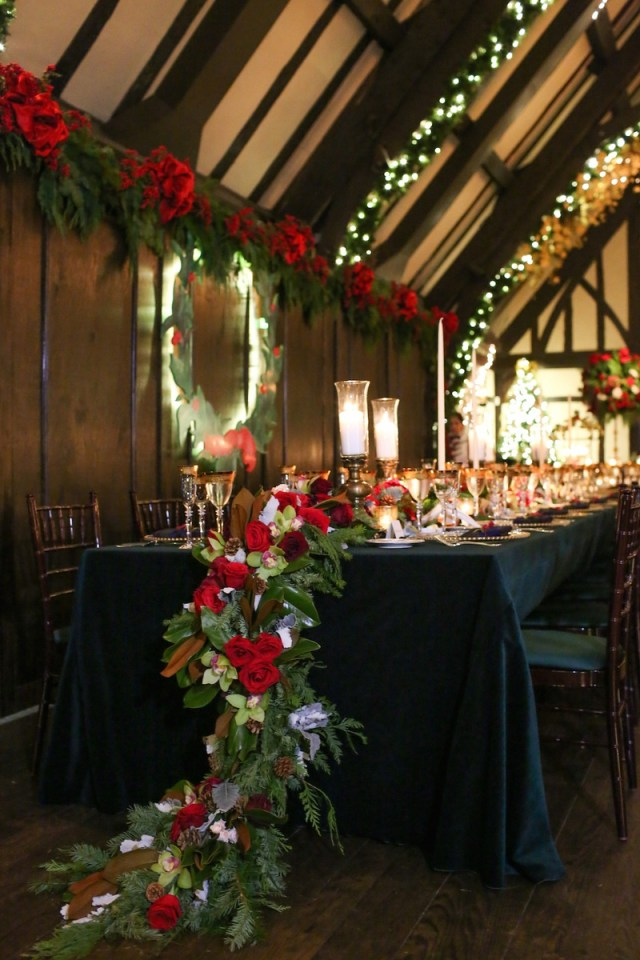 Wedding Head Table Decor Reception Dcor Photos Holiday Wedding Head Table Dcor Inside