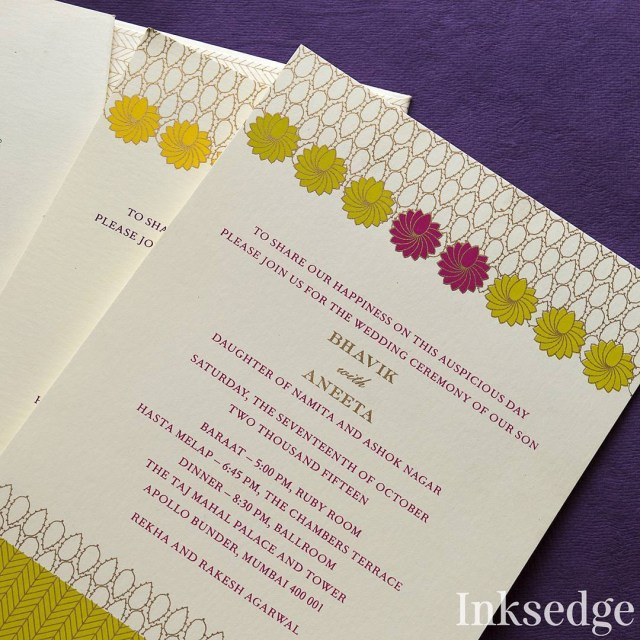 Wedding Invitation Assembly Indian Wedding Invitation Wording In English What To Say Guide