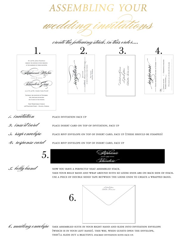 Wedding Invitation Assembly Wedding Invitation Assembly Wedding Invitation Assembly And It Is