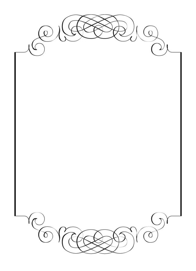 Wedding Invitation Clip Art Free Vintage Clip Art Images Calligraphic Frames And Borders