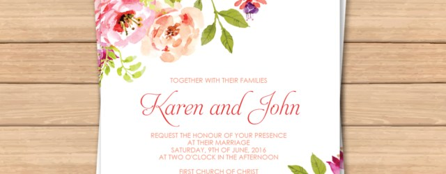 Wedding Invitation Editable Template This Would Be Great With Different Colors Free Pdf Wedding