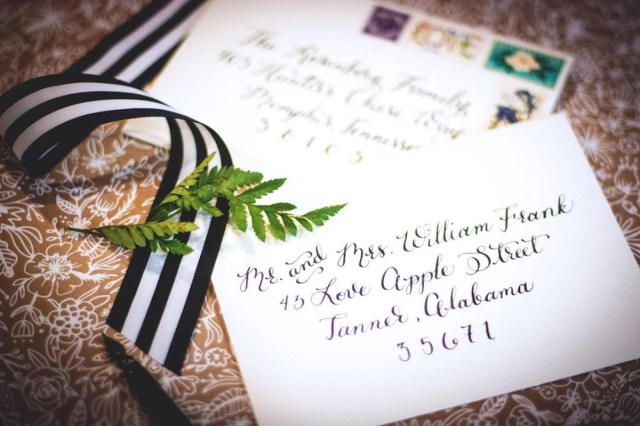 Wedding Invitation Envelopes How To Address Wedding Invitations Unveiled Zola