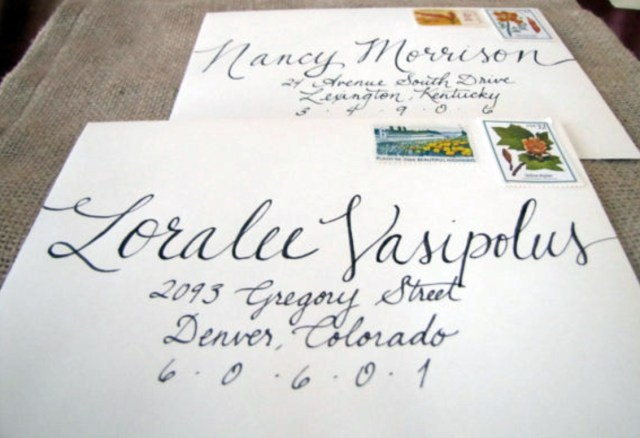 Wedding Invitation Envelopes Using Titles On Wedding Invitations And Wedding Envelopes