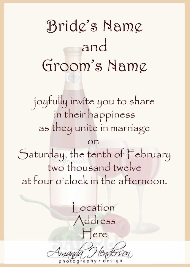 Wedding Invitation Examples Wedding Invitation Wording Samples 21st Bridal World Wedding