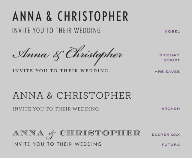 Wedding Invitation Fonts 2019 Wedding Invitation Fonts Eventinvitationtemplates