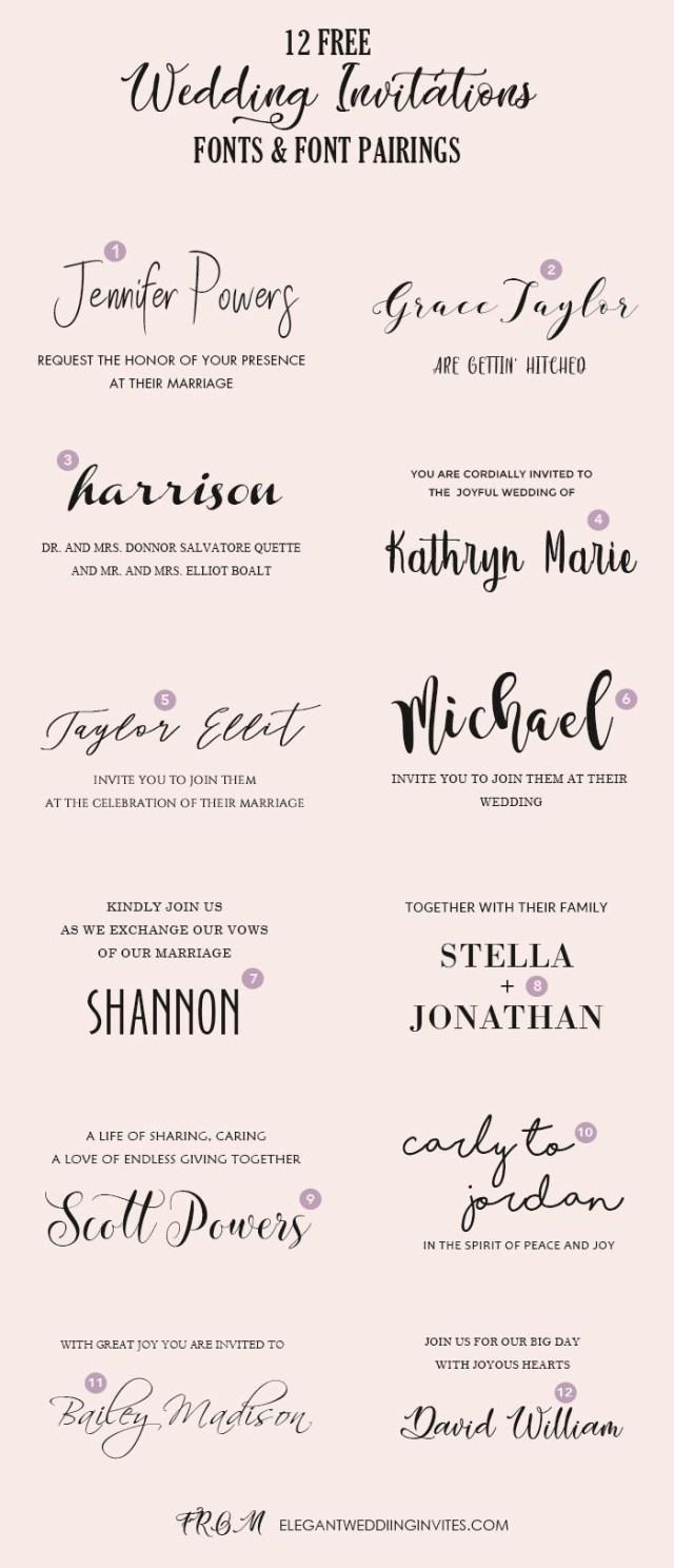 Wedding Invitation Fonts Hochzeit Einladung Font Pairing Guide Mit Free Killer Schriftarten
