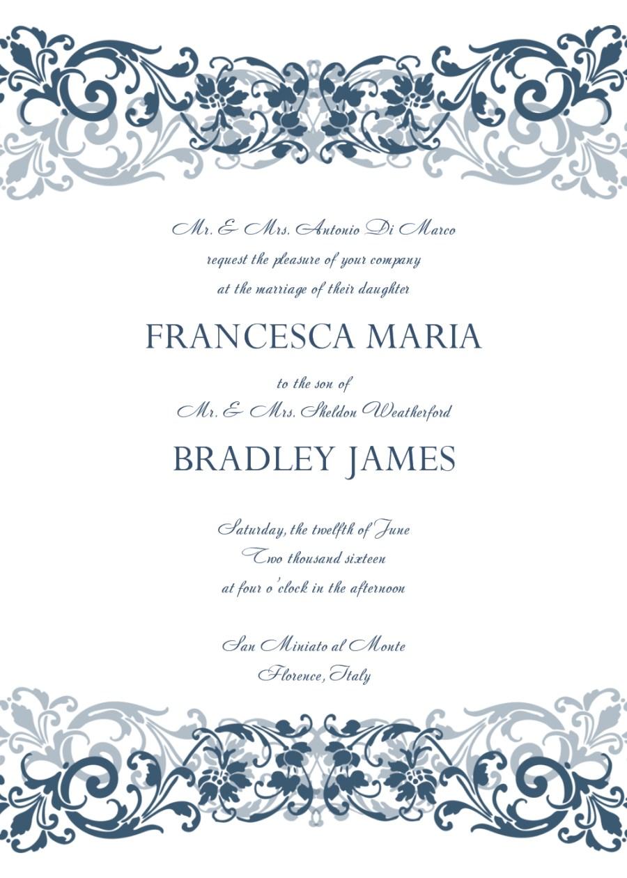 Wedding Invitation Maker 30 Free Wedding Invitations Templates 21st Bridal World