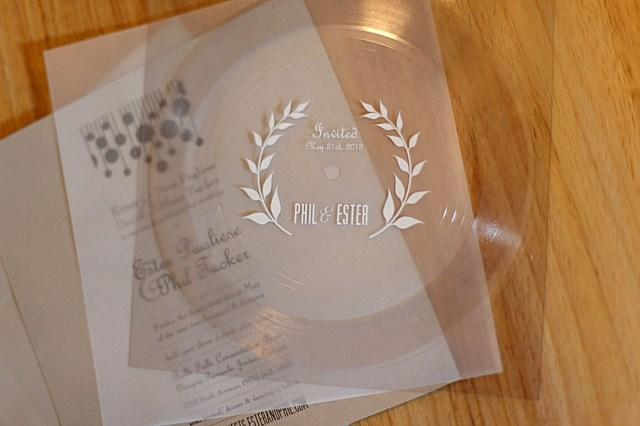 Wedding Invitation Maker Maker Wedding Vinyl Flexi Record Wedding Invitations Unmaintained