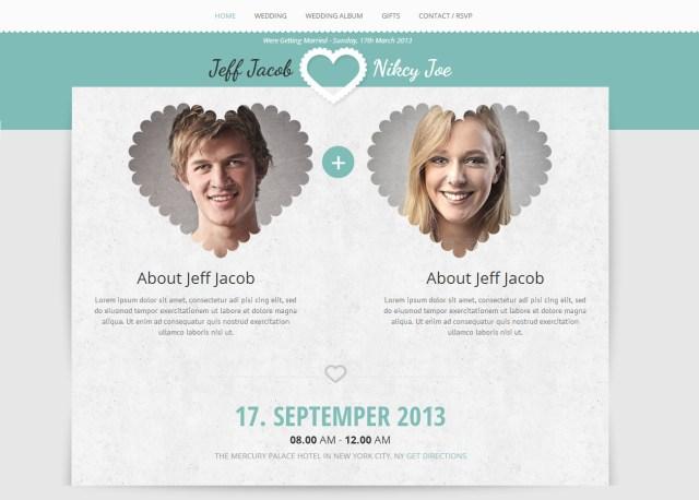 Wedding Invitation Maker Wedding Slide Responsive Wedding Invite Template Accurathemes
