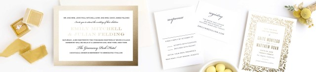 Wedding Invitation Pictures Foil Stamped Wedding Invitations Gold Silver Rose Gold Basic
