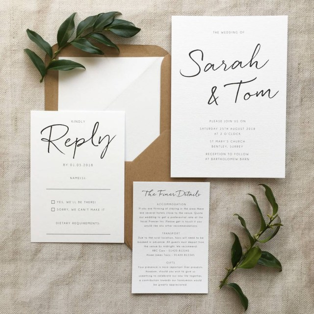 Wedding Invitation Pictures Wedding Invite Wording And Etiquette Wedding Planning Hitchedcouk