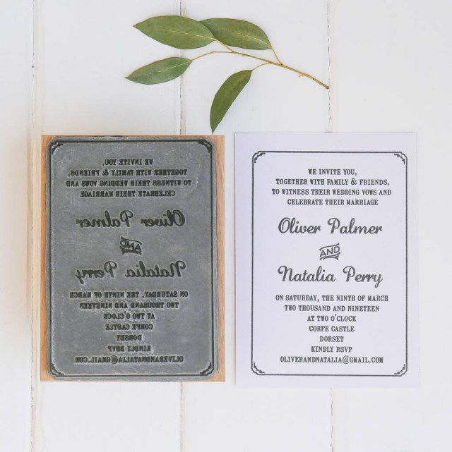 Wedding Invitation Stamps Wedding Invitation Stamp With Border English Stamp Company
