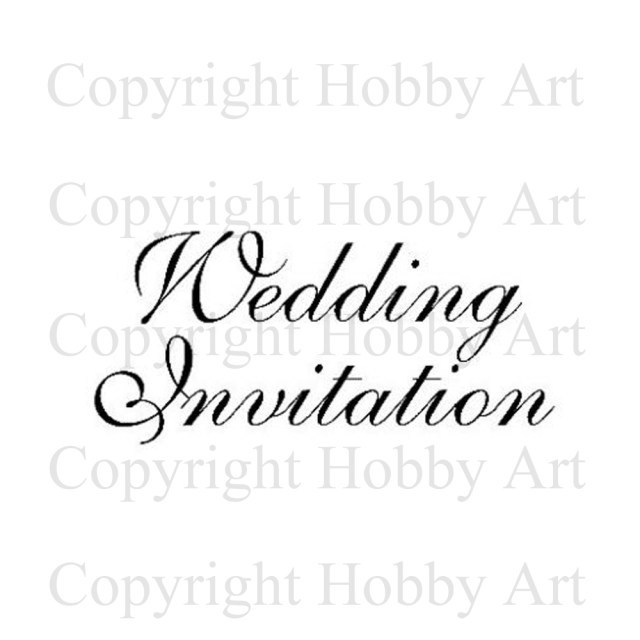 Wedding Invitation Stamps Wedding Invitation Weddings Rubber Stamps Products Hob