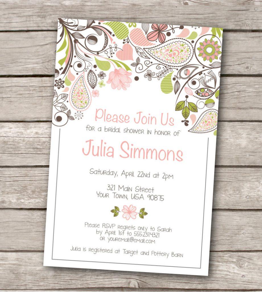 Wedding Invitation Template Free Wedding Ideas Free Wedding Invitation Printable Templates