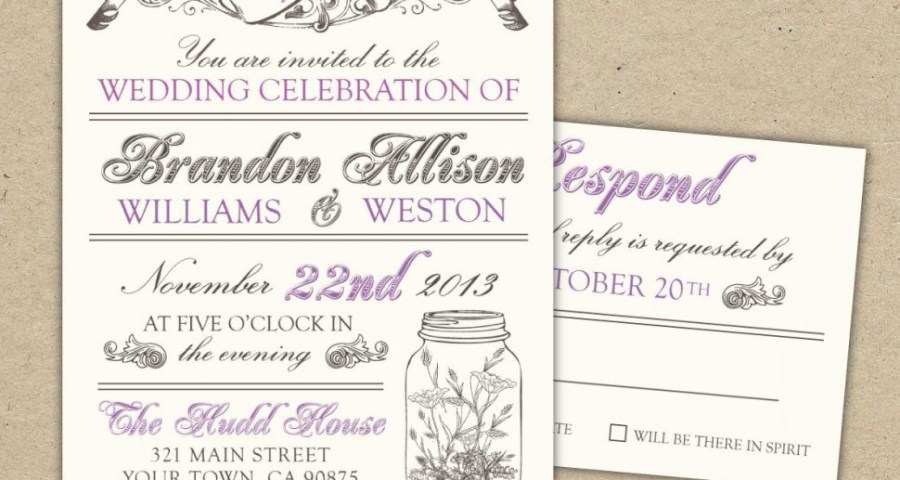 30 Creative Picture Of Wedding Invitation Templates Free Download