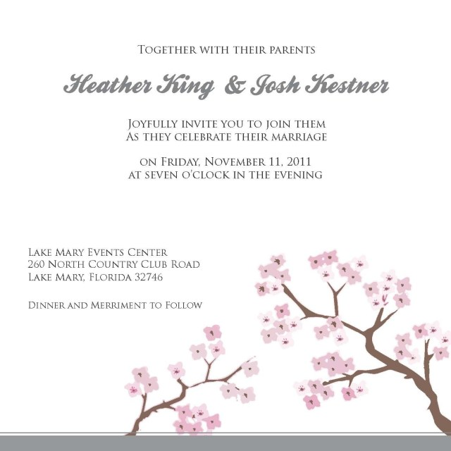 Wedding Invitation Templates Word Invite Template For Word