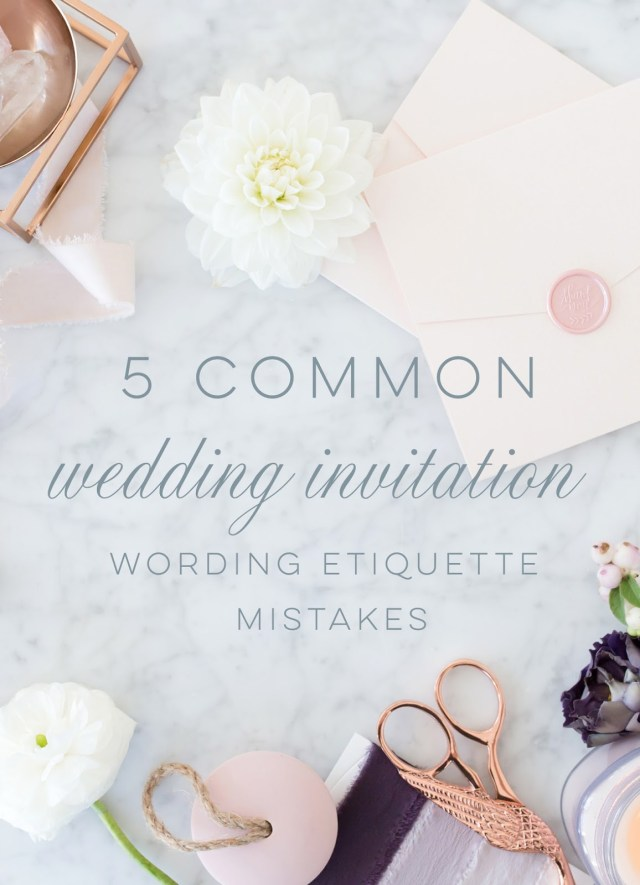 Wedding Invitation Wording Etiquette Blush Paperie Wedding Invitation Wording Etiquette 5 Common Mistakes