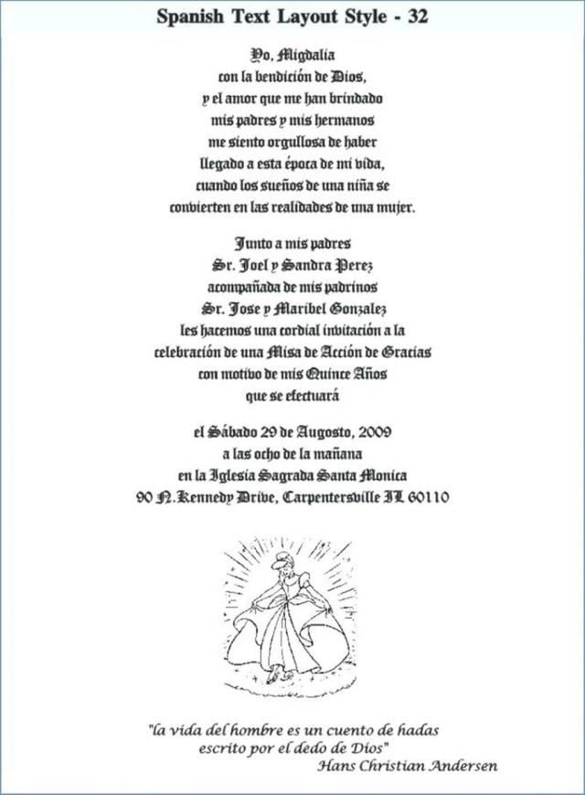 Wedding Invitation Wording In Spanish 206243 Spanish Wedding Invitation Wording Samples Thestrugglers Org