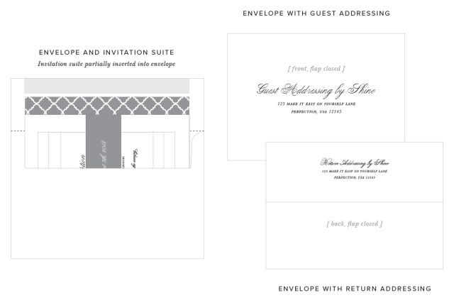 Wedding Invitations Addressing Guest Addressing For Your Wedding Invitations Shine Wedding