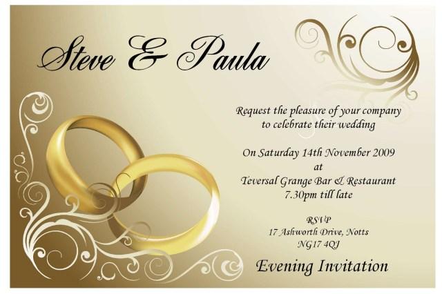Wedding Invitations Free Samples Free Sample Wedding Invitations Card Invitation Design Online