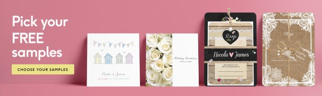 Wedding Invitations Free Samples Free Samples From Dotty About Paper