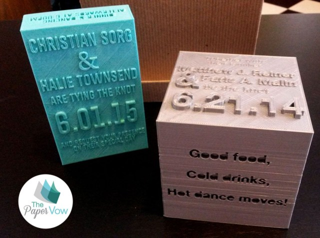 Wedding Invitations Printing The Future Of Wedding Invitations Created From A 3d Printer Hold