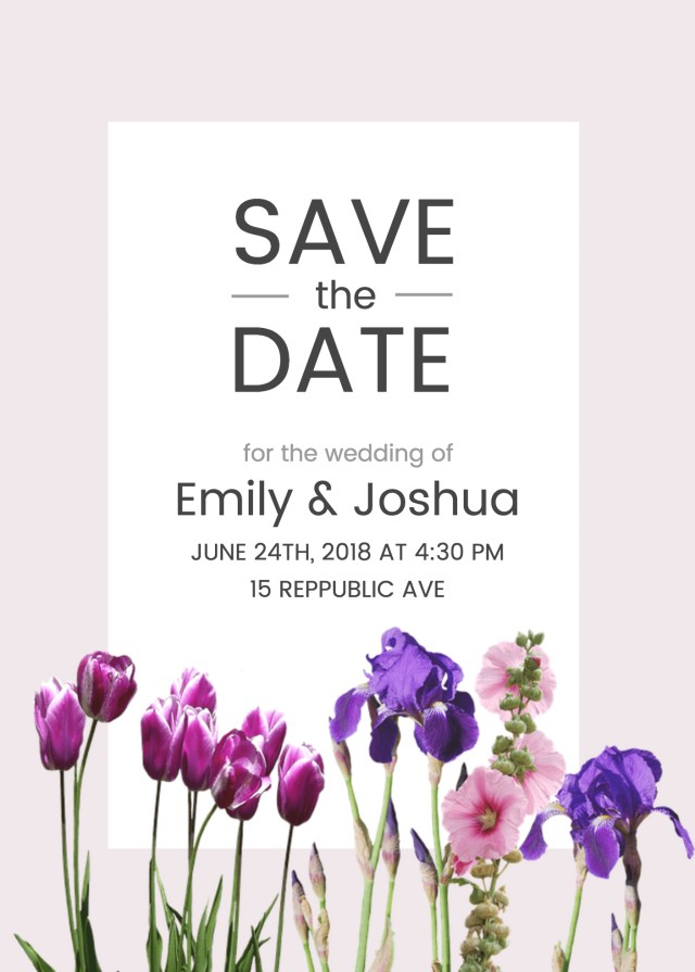 Wedding Invitations Template 19 Diy Bridal Shower And Wedding Invitation Templates Venngage