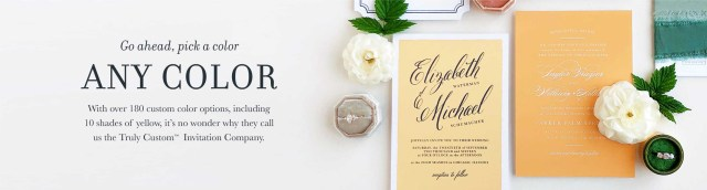 Wedding Invitations With Photo Wedding Invitations Match Your Color Style Free