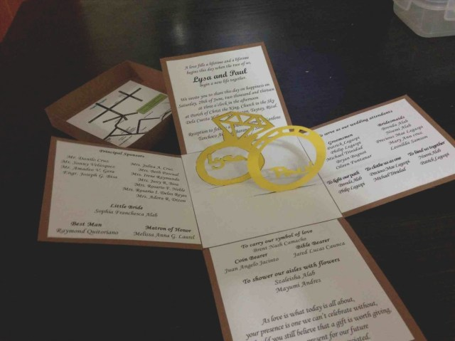 Wedding Pop Up Invitations 2019 Pop Up Wedding Invitations Eventinvitationtemplates