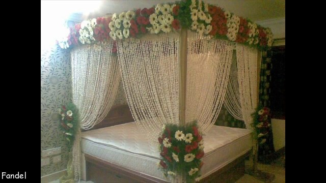 Wedding Room Decorations Beautiful Bridal Wedding Bedroom Decoration Youtube