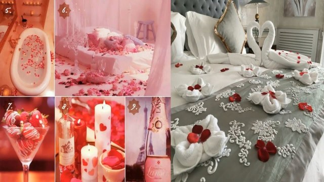 Wedding Room Decorations Romantic Wedding Marriage Room Decoration Ideas Bridal First