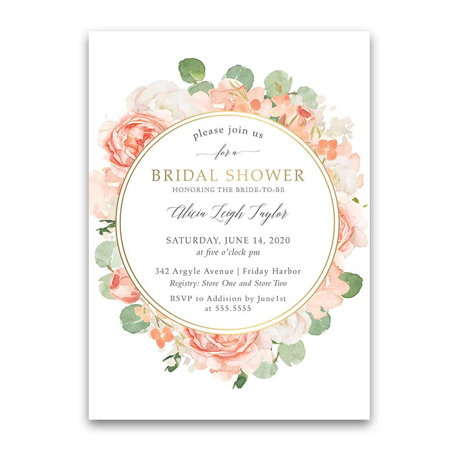 Wedding Shower Invites Bridal Shower Invitations Custom Designed And Inexpensive