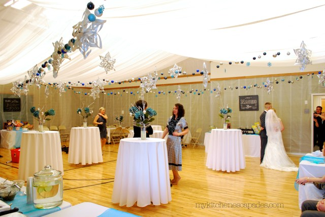 Wedding Stage Decoration Materials Wedding Ceiling Draping Tutorial How To Measure And Hang A Fabric