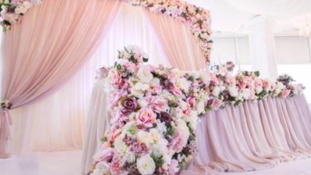 Wedding Tables Decoration Breathtaking Wedding Head Table Decoration And Backdrop Ideas Youtube